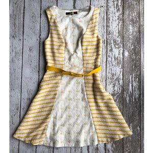 Anthropologie Eva Franco Sequin Daisy Dress
